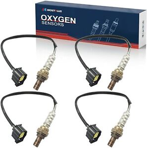 Set 4 O2 Oxygen Sensors Upstream Downstream For Dodge Charger Ram Jeep