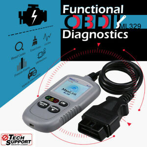 Autel Ml329 Car Obd 2 Functions Diagnostic Scanner Auto Code Reader Check Engine
