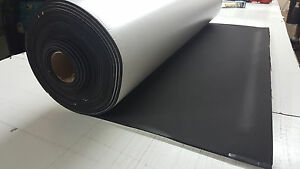 Closed Cell Sponge Rubber Roll Neo epdm Blend1 8x53 widex10ft Long W adhesive
