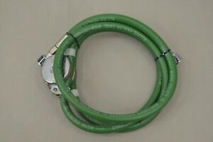 Oxygen Hose With Retractor Green 6 Ft Diss Tighten Diss Female Adapter