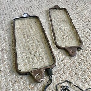 Lot Of 2 Vintage 1930s Casco Electric Windshield Defroster Ice Sleet Removers
