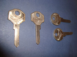 1949 1950 1951 Lincoln Mercury Key Blanks 2 Key Set
