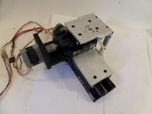 Dci 2 axis Xy Linear Actuator Positioning Stage 1 x4 Travel Lead Screw Stepper