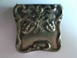 Old Russia Solid Silver Buckle Silver 84