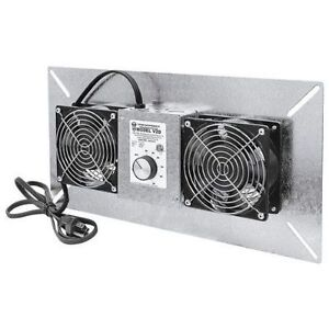Tjernlund Products Underaire V2d Crawl Space Ventilator Fan