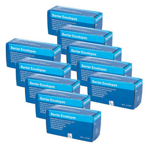 10 Packs Dental X ray Scanx Barrier Envelopes No 2 For Phosphor Plate 3000 Pcs