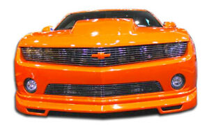 Duraflex Racer Front Lip Under Spoiler Air Dam For 2010 2013 Chevrolet Camaro V6