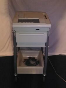 Burdick E350 Ekg System With Cart