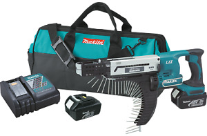 New Makita Usa Xrf01 18 Volt Lithium Autofeed Screwgun Kit