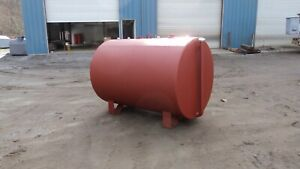 New 550 Gallon Above Ground Double Wall Fuel Oil Storage Tank Ul 142