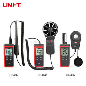 Uni t Lcd Temperature Humidity Digital Anemometer Wind Speed Meter Lux Luxmeter