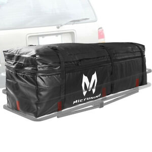 Waterproof Expandable Hitch Trays Carrier Cargo Rack Bag For Car Truck Suv Vans