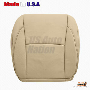 Fits 2007 To 2012 Lexus Es350 Passenger Bottom Perforated Leather Seat Cover Tan