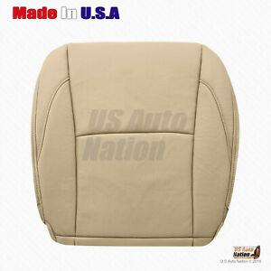 For 2009 2010 Lexus Es350 Driver Side Bottom Perforated Leather Seat Cover Tan