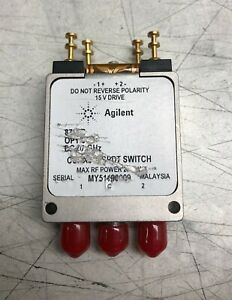 Hp Agilent Coaxial Switch 15 V Drive