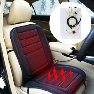 2 Or 4 Car Seats Heater Carbon Fiber Universal Kit W 2 dial 5 level Switch 12v