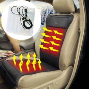 Carbon Fiber Car Heated Seat Heater Kit 2 dial 5 level Switch 4 8 Pad 2 4 Seats