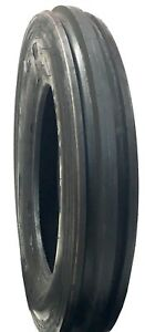 New Tire 7 50 16 Deestone 3 Rib F 2 8 Ply Tubetype 750x16 Tractor Front Sil