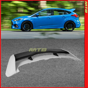 Focus Rs Style Rear Trunk Wing Spoiler For 2013 2018 Ford Focus Hatchback New
