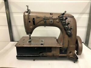 Union Special 51500bb 2 Needle Tandem Ndl Seat Seamer Industrial Sewing Machine