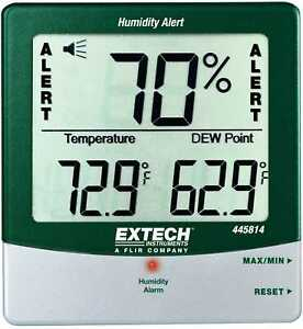 Extech 445814 Humidity Testers Hygrometers Style humidity Meters Portable