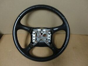 99 02 Chevy Pickup Truck Silverado Suburban Tahoe Factory Leather Steering Wheel