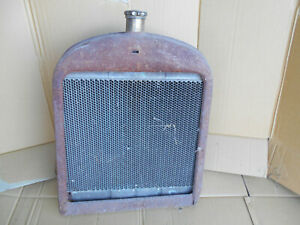 Rat Rod Grill Shell Vintage Patina 1920 S Model T Bucket Harrison Radiator Look