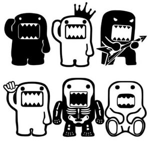 6 Domo Car Decal Sticker Pack Lot Tuner Low Funny Euro Boost Jdm Racing Buy2get1