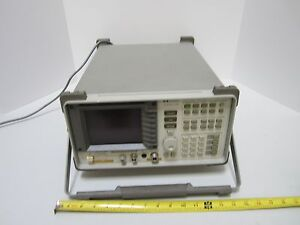 Hp 8590b Spectrum Rf Analyzer Frequency 1 8 Ghz Hewlett Packard As Is Bin ta 2