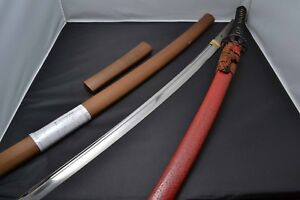 Japanese Samurai Real Sword Katana By Kazuhira Exemption Of Examination Koshirae