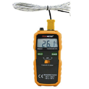 Digital Temperature Meter Wireless K type Thermocouple Thermometer Lcd