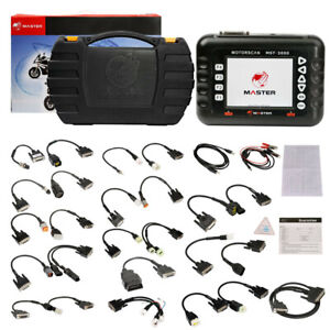 Master Mst 3000 Motorcycle Scanner Fault Code Scanner For Heavy Duty Motorcycles