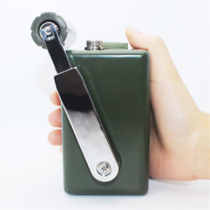 Outdoor Emergency Hand Generator For Laptop Ipad Iphone Charge 30w 0 28v A