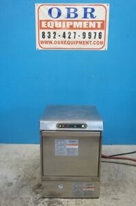 Hobart Commercial Undercounter High Temp Dishwasher Model Lxi