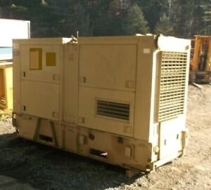 Cat 100 Kw Diesel Generator Set W 49 Hours