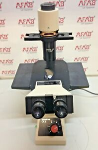 Olympus Ck 2 Inverted Phase Contrast Microscope