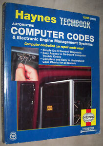 Haynes Techbook Automotive Computer Codes Electronic Engine Management 10205