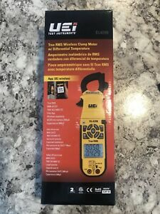 Uei Test Instruments Dl429b True Rms Advanced Hvac Clamp Meter