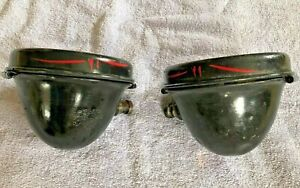 Vintage Electric Auto Lite Co 1326 Cowl Lights Reo Ford Model T Chevy Dodge