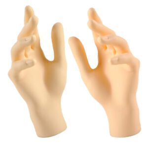 L r Hands Display Model Stand For Jewelry Store home Decor Skin Color