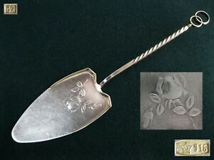 Weight 81 68g Vintage Cake Spatula Paddle Silver 916 Star Stamp Ussr