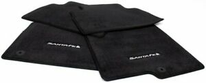 Oem Hyundai Santa Fe Floor Mat Set S2f14 au000nnss Rectangle Hook Anchors