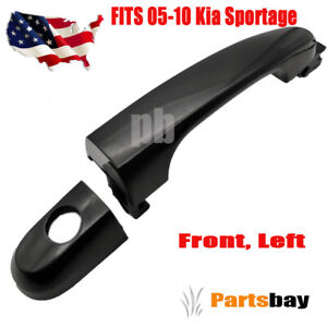 New Exterior Outside Door Handle Lh Driver Side Front For 05 10 Kia Sportage