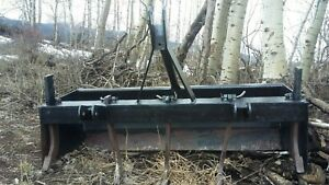 brush Hog 55 Inches Wide Box Scraper Tiller With 3 Point Hitch