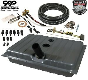 1969 1970 Ford Mustang Efi Fuel Injection Gas Tank Fi Conversion Kit 73 10ohm