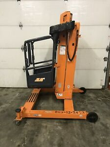 2016 Jlg Ft140 14 Liftpod Portable Personnel Vertical Mast Boom Lift