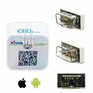 Xtool Iobd2 Mini Bluetooth 4 0 Code Reader Auto Scanner For Iphone Ios Android