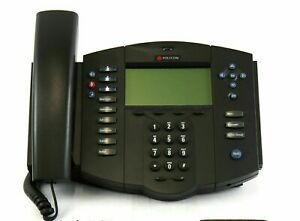 Lot Of Six 6 Polycom Soundpoint Ip 501 Sip Business Telephones Voip Phones