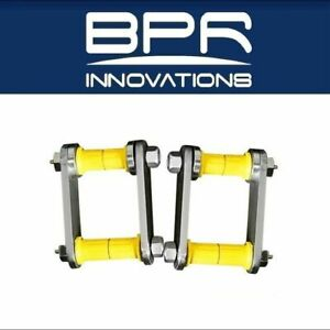 Arb 4x4 Accessories Greaseable Rear Leaf Spring Shackle And Pins Ome Omegs11