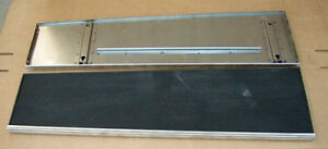 1930 1931 Model A Ford Car Running Boards Rubber Stainless Trim Coupe Sedan